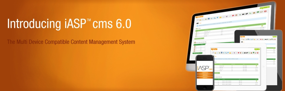 iASP cms 6.0 is Multiplatform Compatible